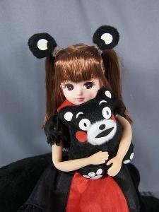 リカちゃん LD-16 くまモン×リカちゃん012