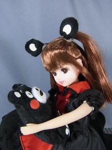 リカちゃん LD-16 くまモン×リカちゃん014