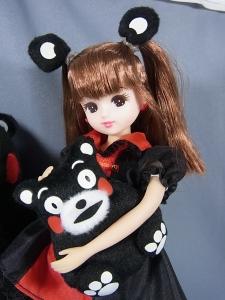リカちゃん LD-16 くまモン×リカちゃん015