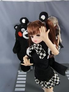くまモン×リカちゃんに這いよるニャル子さんで遊ぼう017