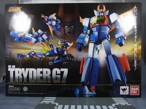 超合金魂 GX-66 無敵ロボ トライダーG7 01 G7001