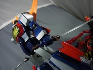 超合金魂 GX-66 無敵ロボ トライダーG7で遊ぼう044