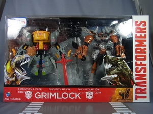 TRANSFORMERS MOVIE 4 AGE OF EXTINCTION USA Toysrus限定 EVOLUTION PACK GRIMLOCK015436