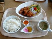 みかん鶏唐定食