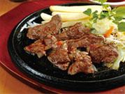 馬肉ステーキ定食