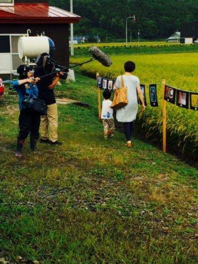 2014.8.25田んぼで写真展3