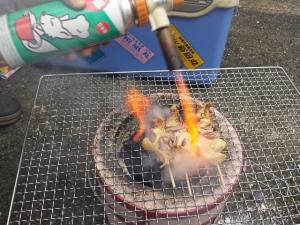 真の直火焼き