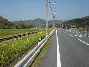 志文川沿い