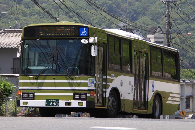 ブルーリボンHU 54829 広島200か16-65