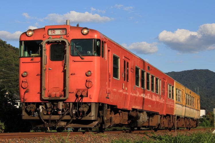 キハ47系1000+0番台 中深川-上深川