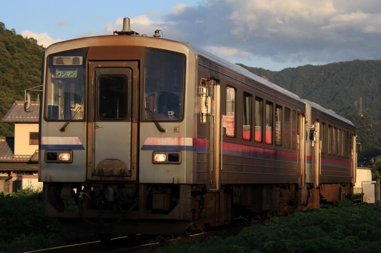 キハ120系300番台 2両 中深川-上深川