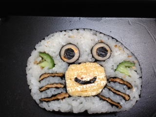 飾り巻き寿司カニ