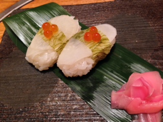 升本大根握り寿司