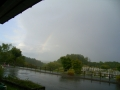 雨上がりの虹1 001