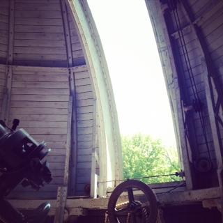 赤道儀ドームから2__