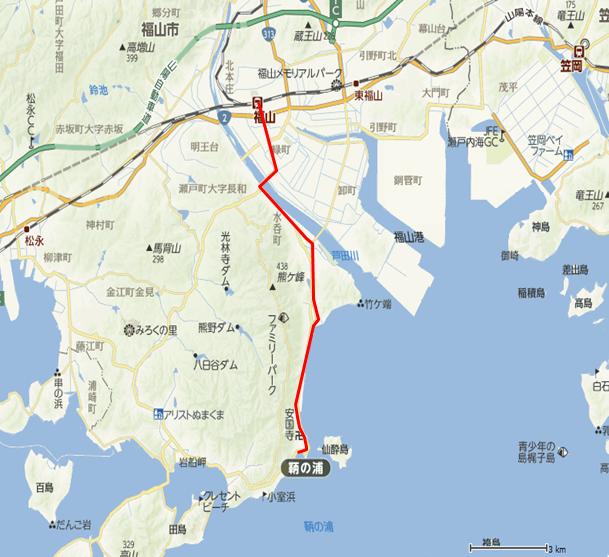 140705 福山-鞆の浦往復