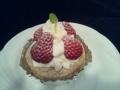 苺のショートケーキ(フォレノワール式)