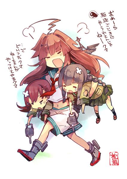 【艦これ】球磨型の個性的すぎる姉妹感良いよね