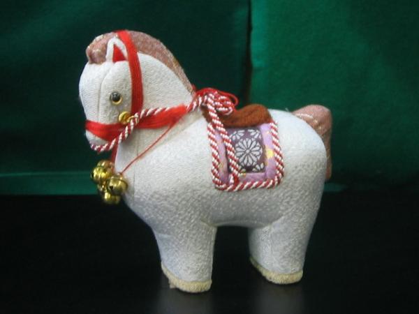 【木目込み人形】馬
