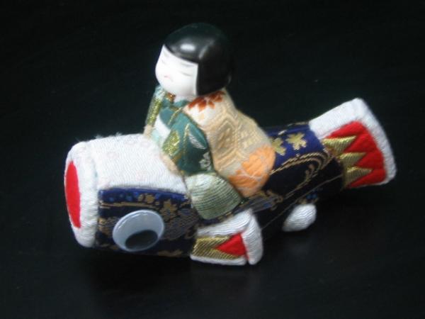 【木目込み人形】薫風