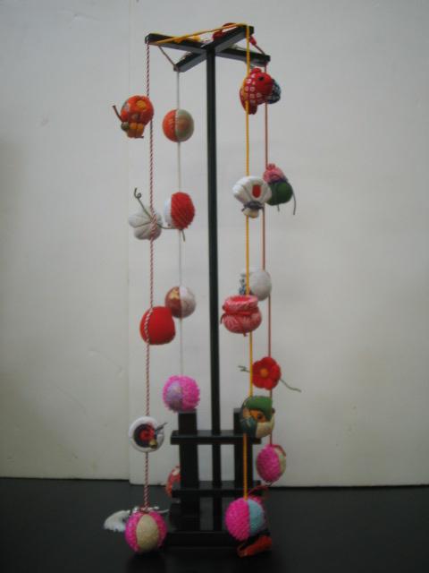 【木目込み人形】つるし雛飾り