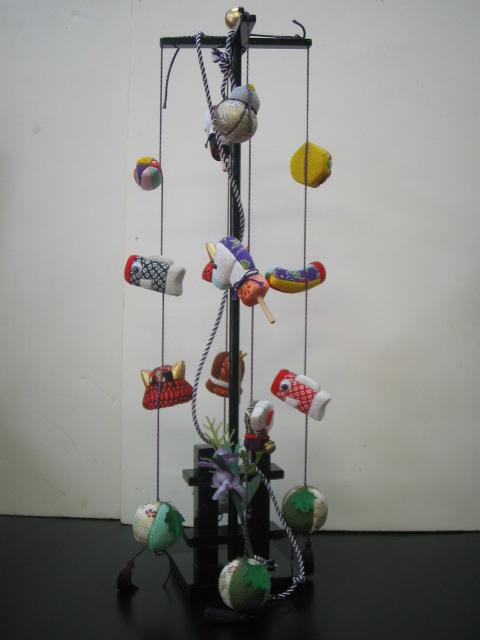 【木目込み人形】つるし端午の節句の飾り