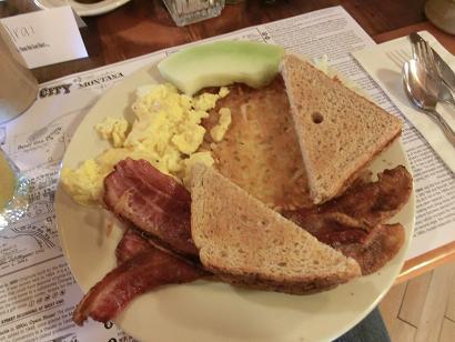 ranch朝食8