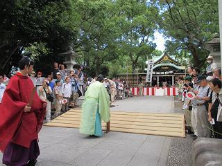 王子神社田楽舞1
