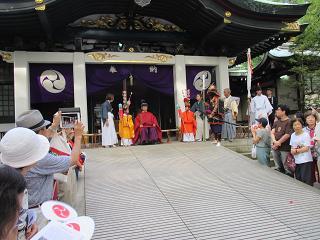 王子神社田楽舞5