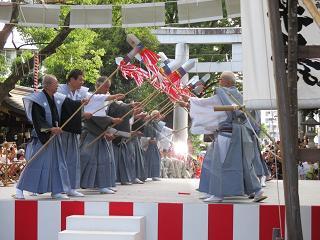王子神社田楽舞6
