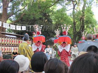 王子神社田楽舞10