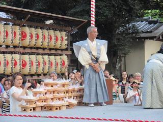 王子神社田楽舞11
