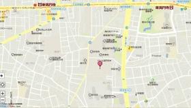 妙法寺墓地地図