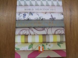 トミタ 輸入壁紙コレクション「WORLD SELECTION vol.1」