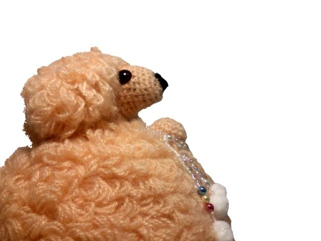 わんちゃん犬編みぐるみ手作り可愛い人気お洒落な1405262