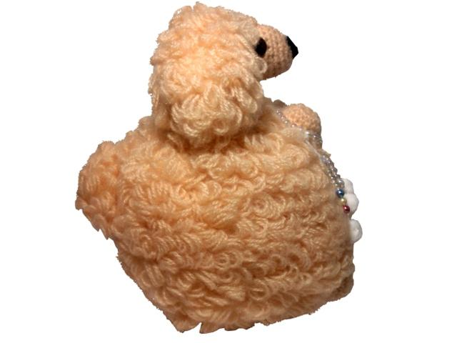 わんちゃん犬編みぐるみ手作り可愛い人気お洒落な1405263