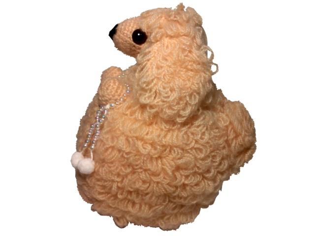 わんちゃん犬編みぐるみ手作り可愛い人気お洒落な1405265