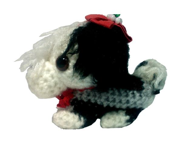 わんちゃん犬編みぐるみ手作り可愛いい人気おしゃれな1405214