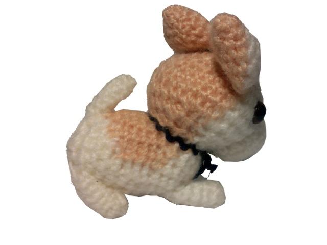 わんちゃん犬編みぐるみ手作り可愛いい人気おしゃれな1405242