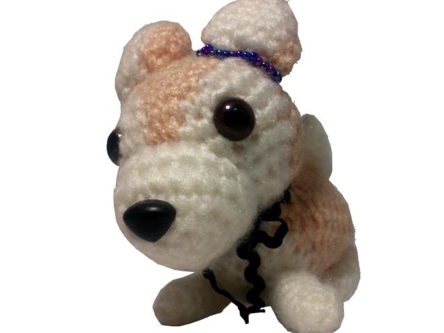 わんちゃん犬編みぐるみ手作り可愛いい人気おしゃれな1405245