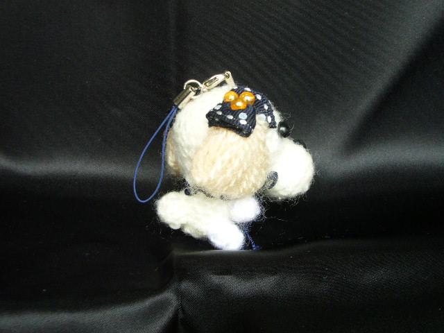 わんちゃん犬ストラップ手作り可愛いい人気おしゃれな1404073