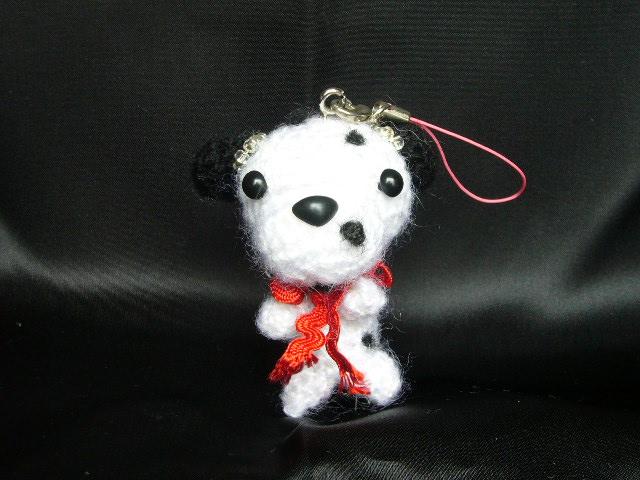 わんちゃん犬ストラップ手作り可愛いい人気おしゃれな1404091