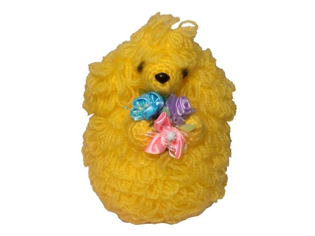 犬トイプー編みぐるみ手作り可愛いい人気おしゃれな1404031