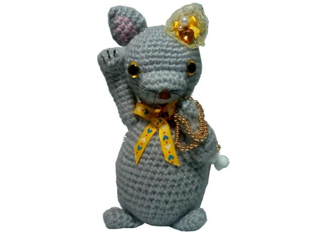 招き猫編みぐるみ手作り可愛いい人気おしゃれな1404051