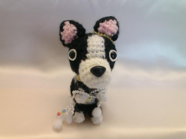 わんちゃん犬編みぐるみ手作り可愛いい人気おしゃれな1404151