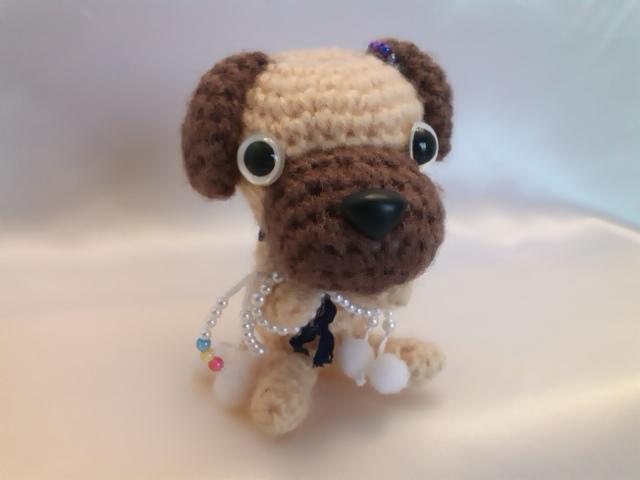 わんちゃん犬編みぐるみ手作り可愛いい人気おしゃれな1405161