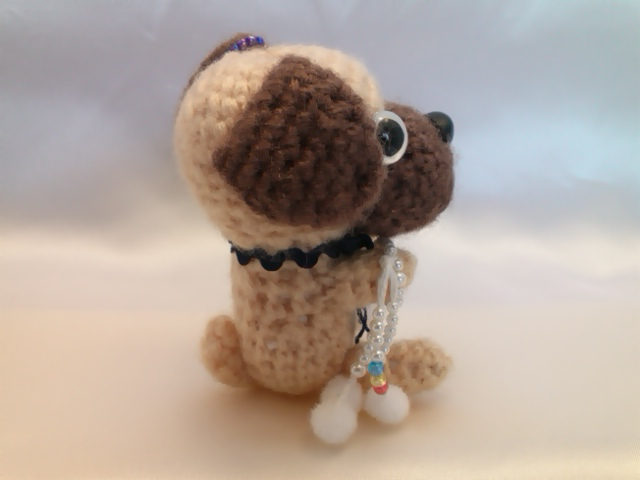 わんちゃん犬編みぐるみ手作り可愛いい人気おしゃれな1405162