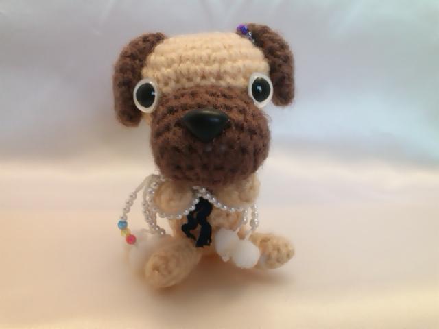 わんちゃん犬編みぐるみ手作り可愛いい人気おしゃれな1405163