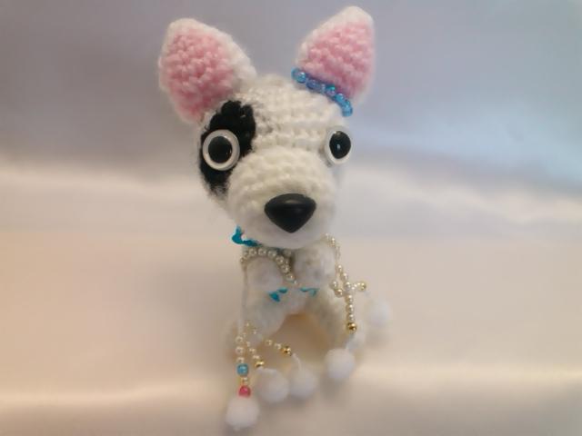 わんちゃん犬編みぐるみ手作り可愛いい人気おしゃれな1405031