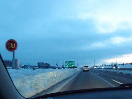 高速の雪事情